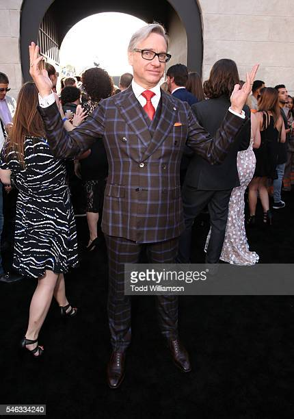 """Director Paul Feig attends the Premiere of Sony Pictures' """"Ghostbusters"""" at TCL Chinese Theatre on July 9, 2016 in Hollywood, California."""
