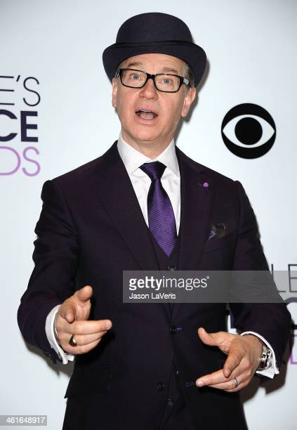 Director Paul Feig poses in the press room at the 40th annual People's Choice Awards at Nokia Theatre LA Live on January 8 2014 in Los Angeles...