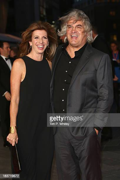 Director Paul Greengrass and Joanna Greengrass attend the European premiere of 'Captain Phillips' on the opening night of the 57th BFI London Film...