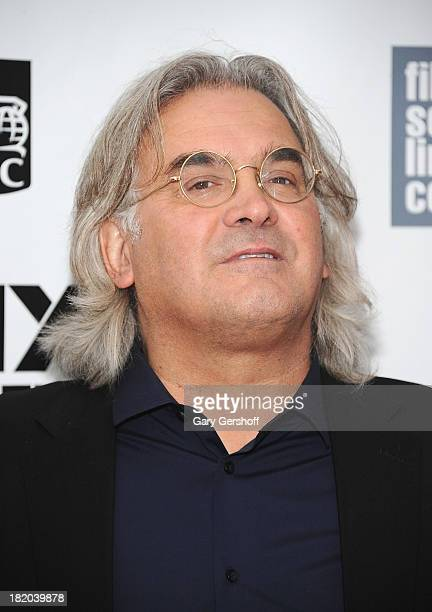 Director Paul Greengrass attends the opening night gala world premiere of Captain Phillips during the 51st New York Film Festival at Alice Tully Hall...