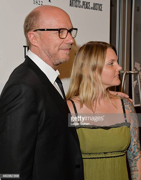 Director Paul Haggis and Alissa Sullivan attend the 'Third Person' Los Angeles Premiere at Pickford Center for Motion Study on June 9 2014 in...
