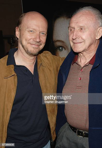 """Director Paul Haggis and his father Ted Haggis attend the premiere of TriStar Pictures' """"Silent Hill"""" at the Egyptian Theatre on April 20, 2006 in..."""
