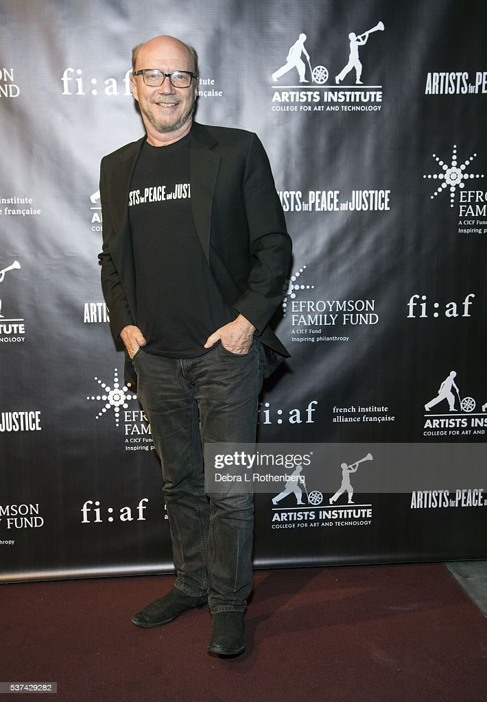 Director Paul Haggis attends the French Institute Alliance Francaise and Artists for Peace and Justice 'Haiti Optimiste' event at Florence Gould Hall on June 1, 2016 in New York City.