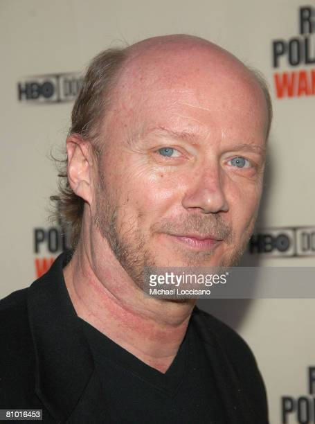 Director Paul Haggis attends the HBO Documentaries premiere Of Roman Polanski Wanted And Desired at The Paris Thatre in New York City on May 6 2008