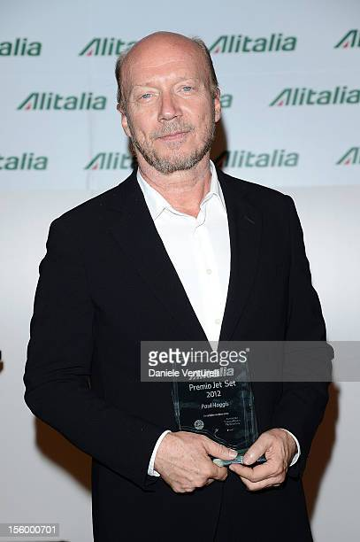 Director Paul Haggis attends the Jet Set Party Alitalia at Residenza di Ripetta on November 10 2012 in Rome Italy