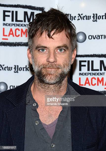 Director Paul Thomas Anderson attends the Film Independent At LACMA An Evening With Paul Thomas Anderson at Bing Theatre At LACMA on November 2 2012...