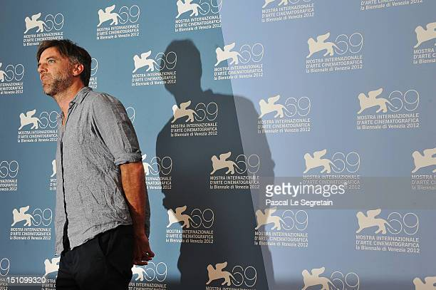 Director Paul Thomas Anderson attends 'The Master' Photocall during the 69th Venice International Film Festival at Palazzo del Casino on September 1...