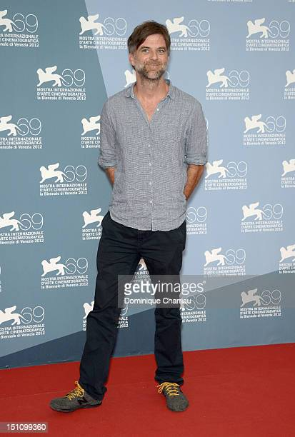 Director Paul Thomas Anderson attends 'The Master' Photocall during the 69th Venice Film Festival at the Palazzo del Casino on September 1 2012 in...