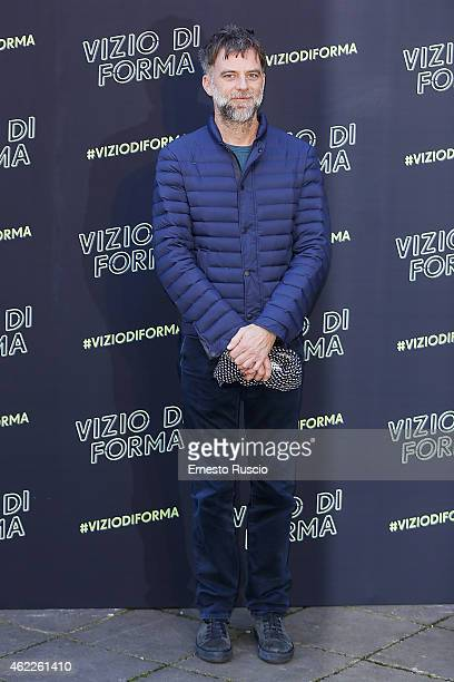 Director Paul Thomas Anderson attends the 'Vizio Di Forma Inherent Vice' at Hotel De Russie on January 26 2015 in Rome Italy