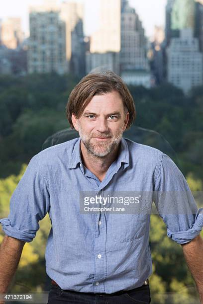 Director Paul Thomas Anderson is photographed for Paris Match on October 5 2014 in New York City PUBLISHED IMAGE