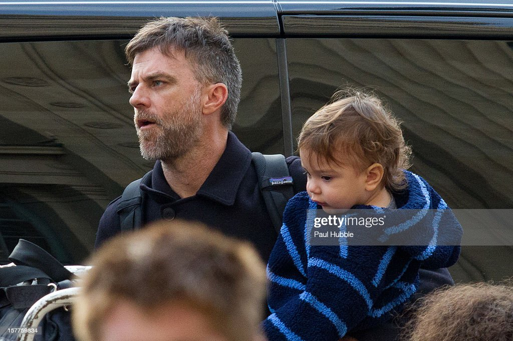 Director Paul Thomas Anderson is sighted arriving at the 'Gare du Nord' train station on December 6, 2012 in Paris, France.