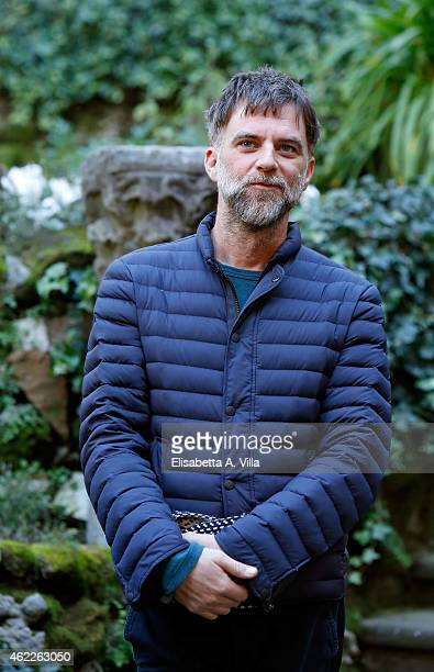 Director Paul Thomas attends 'Vizio Di Forma Inherent Vice' photocall at Hotel De Russie on January 26 2015 in Rome Italy