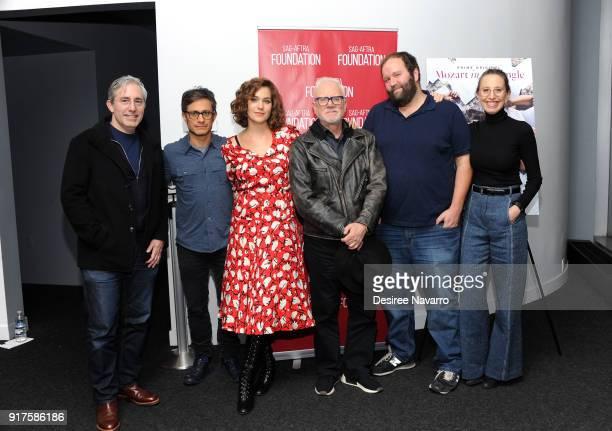 Director Paul Weitz actors Gael Garcia Bernal Lola Kirke Malcom McDowell showrunner Will Graham and executive producer Caroline Baron attend SAGAFTRA...