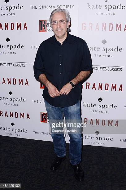 Director Paul Weitz attends a screening of Sony Pictures Classics' 'Grandma' hosted by The Cinema Society and Kate Spade at Landmark Sunshine Cinema...