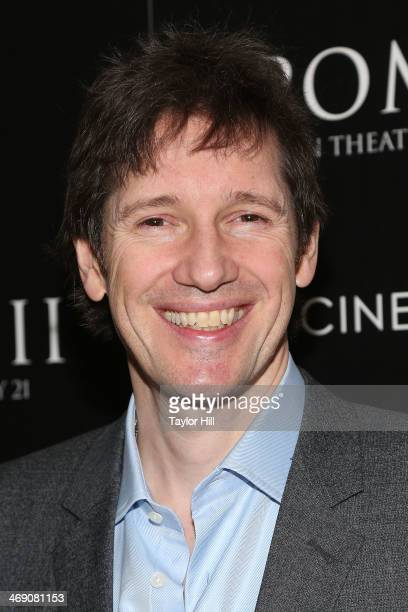 Director Paul WS Anderson attends the Pompeii screening hosted by TriStar Pictures with the Cinema Society and Grey Goose at Crosby Street Hotel on...