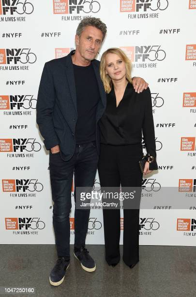 "Director Pawel Pawlikovski and Joanna Kulig attend 56th New York Film Festival - ""Cold War"" screening at Alice Tully Hall, Lincoln Center on October..."
