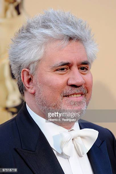 Director Pedro Almodovar arrives at the 82nd Annual Academy Awards held at Kodak Theatre on March 7 2010 in Hollywood California