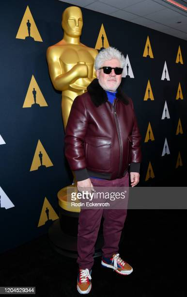 Director Pedro Almodovar attends Oscars Week: International Feature Film at the Samuel Goldwyn Theater on February 06, 2020 in Beverly Hills,...