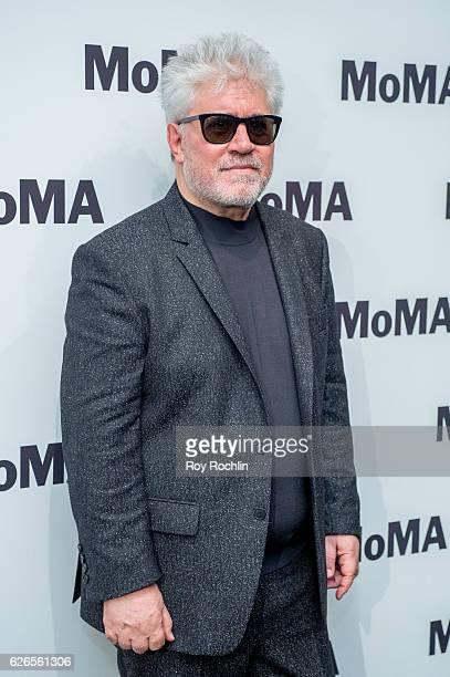 Director Pedro Almodovar attends Pedro Almodovar Film Retrospective at The Museum of Modern Art on November 29 2016 in New York City