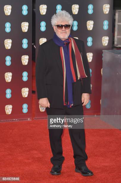 Director Pedro Almodovar attends the 70th EE British Academy Film Awards at Royal Albert Hall on February 12 2017 in London England