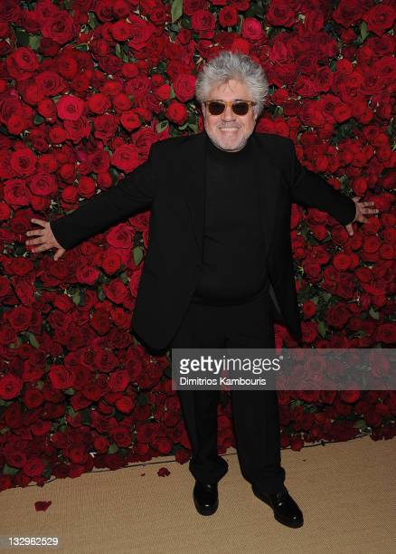 """Director Pedro Almodovar attends the Museum of Modern Art's 4th Annual Film benefit """"A Tribute to Pedro Almodovar"""" at the Museum of Modern Art on..."""