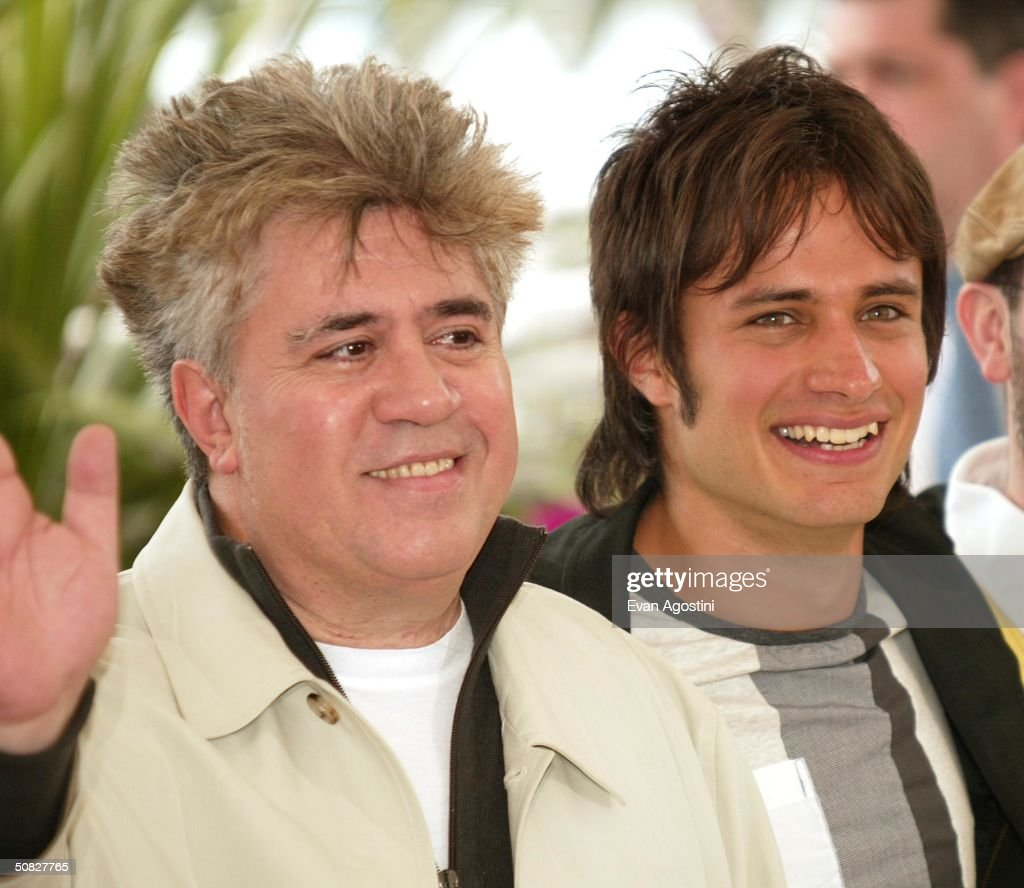 Gael Garcia Bernal Filmes intended for director-pedro-almodovar-with-actor-gael-garcia-bernal -pose-for-at-a-picture-id50827765