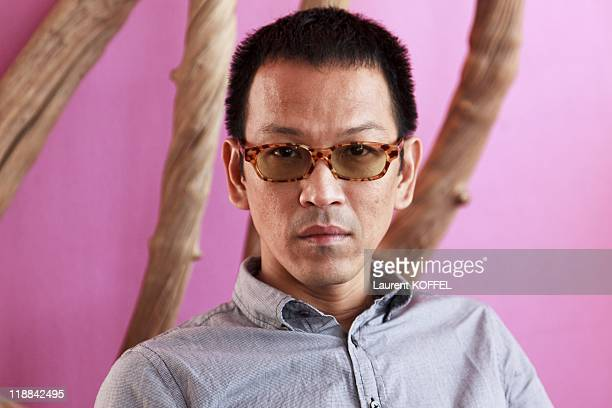 Director PenEk Ratanaruang poses during the 62nd International Cannes Film Festival on May 21 2009 in Cannes France