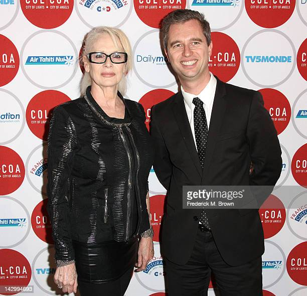 Director Penelope Spheeris and David Martinon Consul General of France in Los Angeles attend the 16th Annual City Of Lights City Of Angels Film...