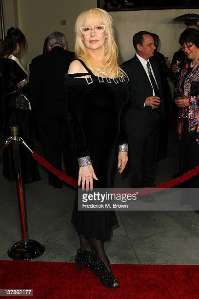 Director Penelope Spheeris arrives at the 64th Annual Directors Guild Of America Awards held at the Grand Ballroom at Hollywood Highland on January...