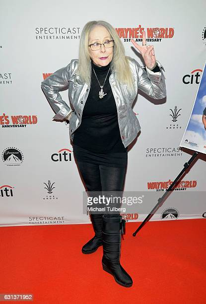 Director Penelope Spheeris attends the 'Wayne's World' 25th Anniversary Panel Discussion at Pacific Theaters at the Grove on January 9 2017 in Los...
