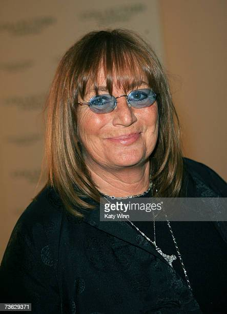 Director Penny Marshall attends Mercedes Benz Fashion Week held at Smashbox Studios on March 18 2007 in Culver City California