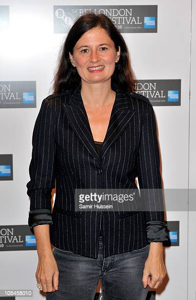 Director Pernille Fischer Christensen attends the A Family premiere during the 54th BFI London Film Festival at the Vue West End on October 14 2010...