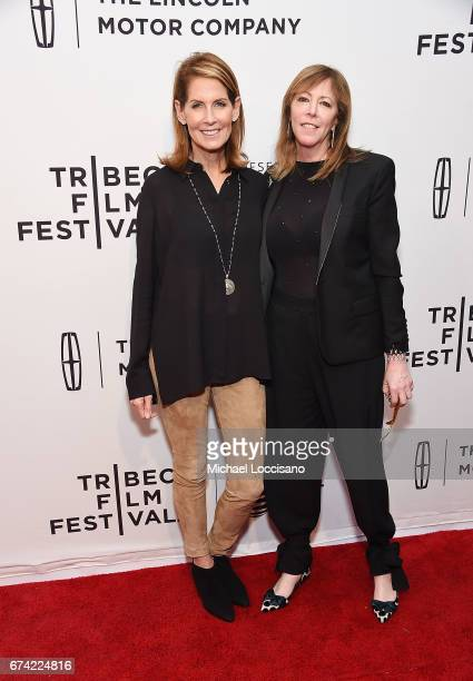 Director Perri Peltz and Tribeca Film Festival CoFounder Jane Rosenthal attend the HBO Documentary screening of Warning This Drug May Kill You at SVA...