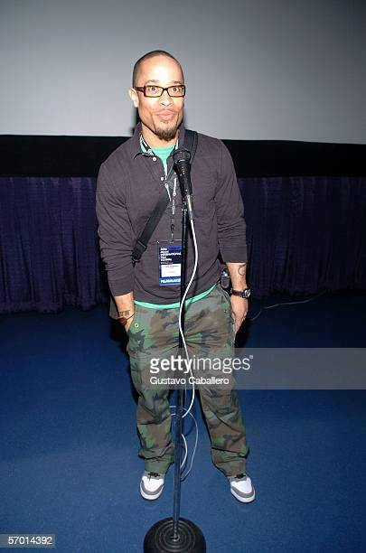Director Pete Chatmon attends the screening of 'Premium' March 6 2006 in Miami Beach Florida