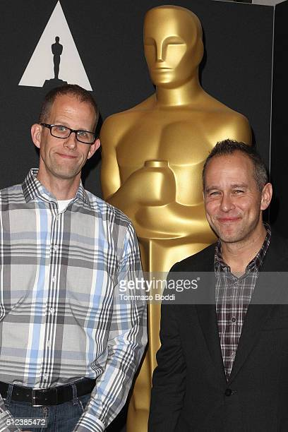 Director Pete Docter and Jonas Rivera attend the 88th Annual Academy Awards Oscar Week Celebrates Animated Features held at AMPAS Samuel Goldwyn...