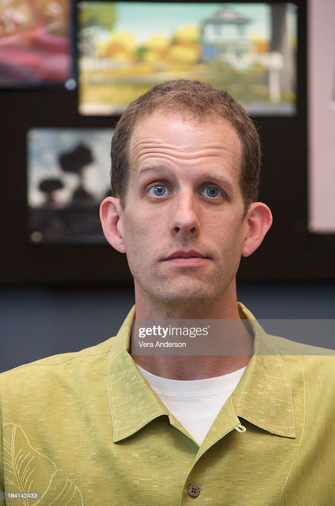 Director Pete Docter at the 'Up' press conference at the Pixar Studios on May 7, 2009 in Emeryville, California.