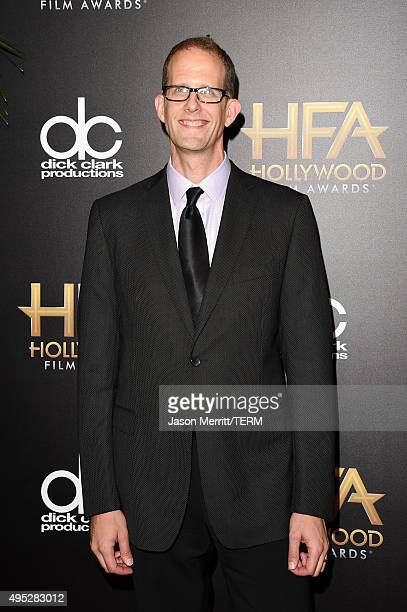 Director Pete Docter attends the 19th Annual Hollywood Film Awards at The Beverly Hilton Hotel on November 1 2015 in Beverly Hills California