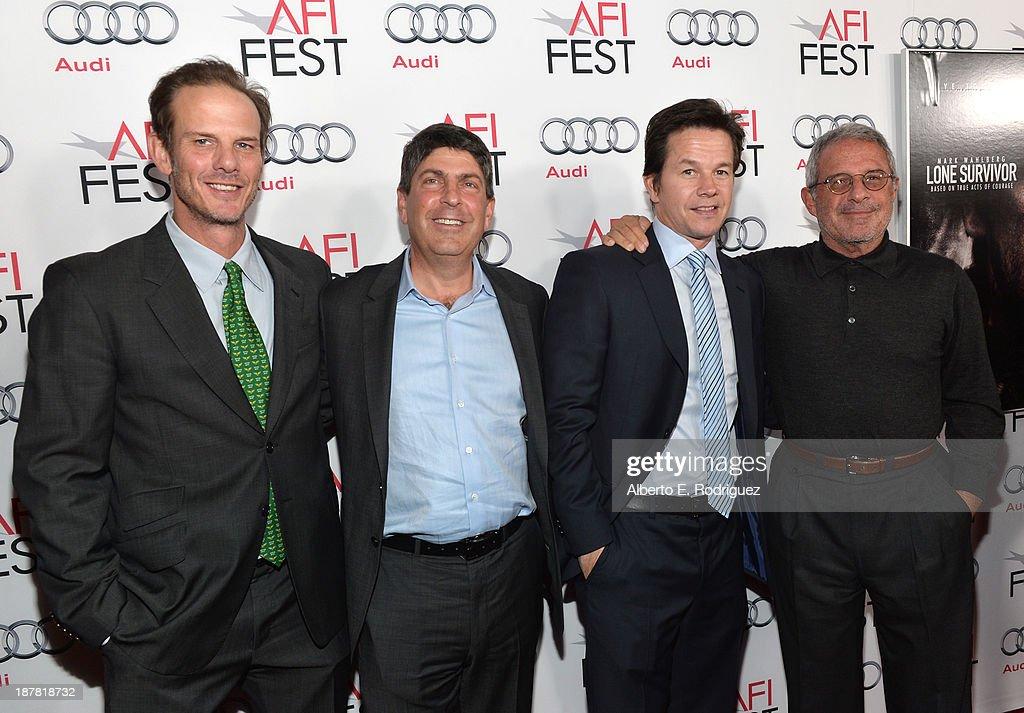 "AFI FEST 2013 Presented By Audi Premiere Of ""Lone Survivor"" - Red Carpet"
