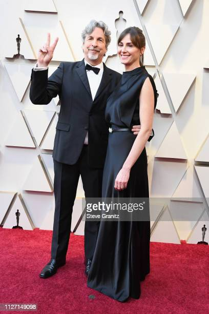 Director Peter Farrelly and his wife Melinda Farrelly attends the 91st Annual Academy Awards at Hollywood and Highland on February 24 2019 in...