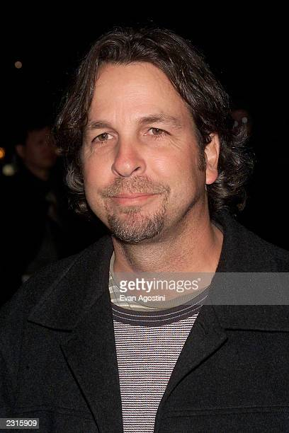 """Director Peter Farrelly arriving for a screening of """"Shallow Hal"""" to benefit pediatric programs of St. Vincent's Hospital in New York City...."""