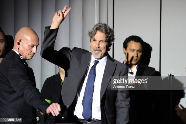 Director Peter Farrelly attends the opening ceremony and 'Green Book' premiere during the 14th Zurich Film Festival at Kino Corso on September 27...