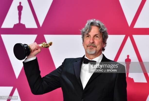 TOPSHOT Director Peter Farrelly winner of Best Picture and Best Original Screenplay for Green Book poses in the press room during the 91st Annual...
