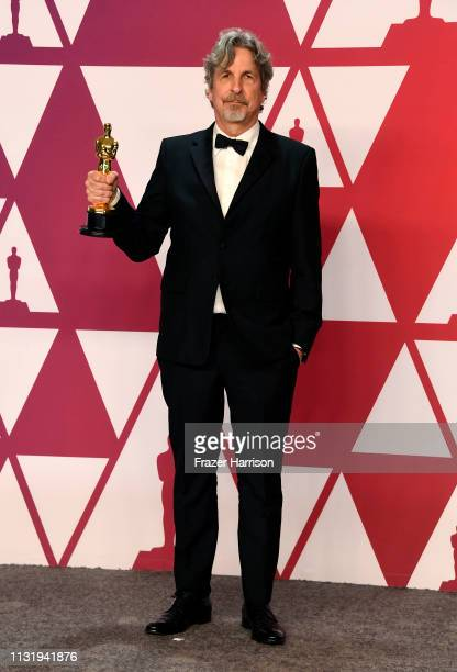 Director Peter Farrelly winner of Best Picture and Best Original Screenplay for Green Book poses in the press room during the 91st Annual Academy...