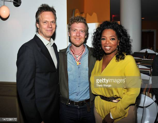 Director Peter Hedges Glen Hansard and Oprah Winfrey attended a special screening of Walt Disney Pictures' new film 'The Odd Life of Timothy Green'...