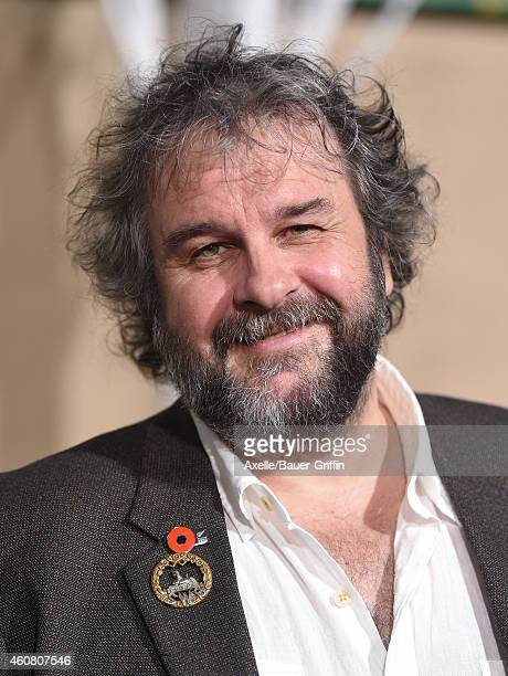 Director Peter Jackson arrives at the Los Angeles premiere of 'The Hobbit: The Battle Of The Five Armies' at Dolby Theatre on December 9, 2014 in...