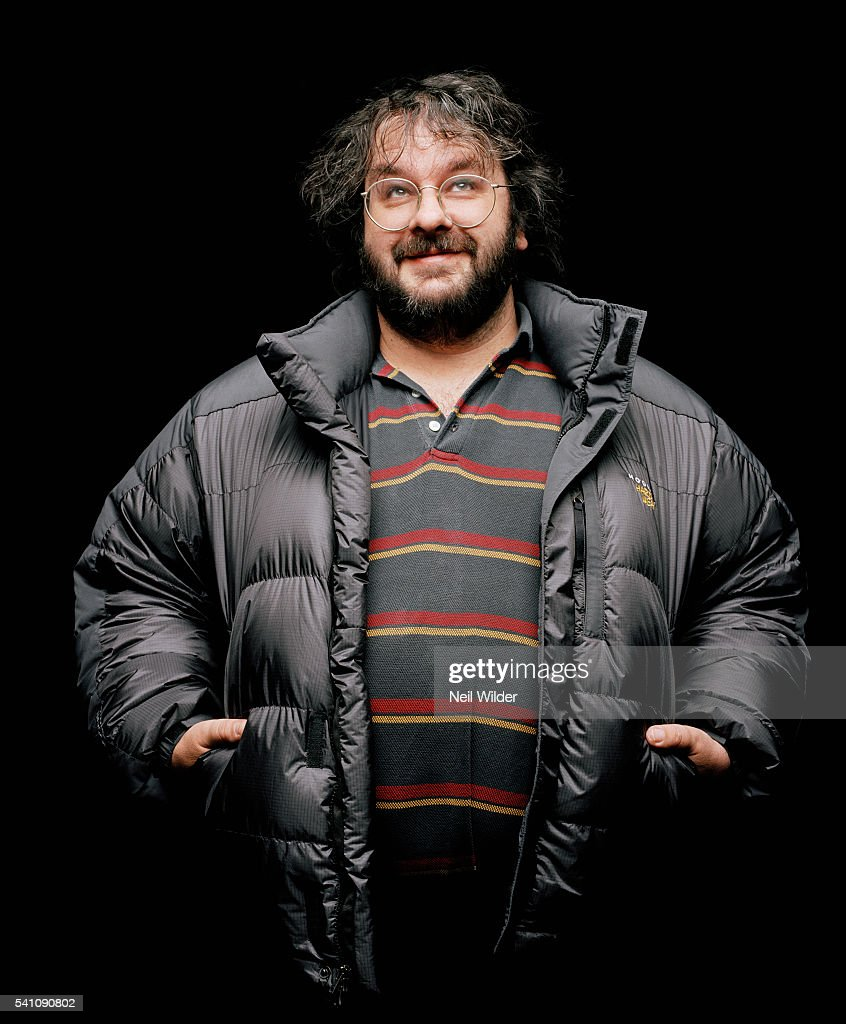 Director Peter Jackson poses for Newsweek International on January 24, 2004 in Los Angeles, CA.