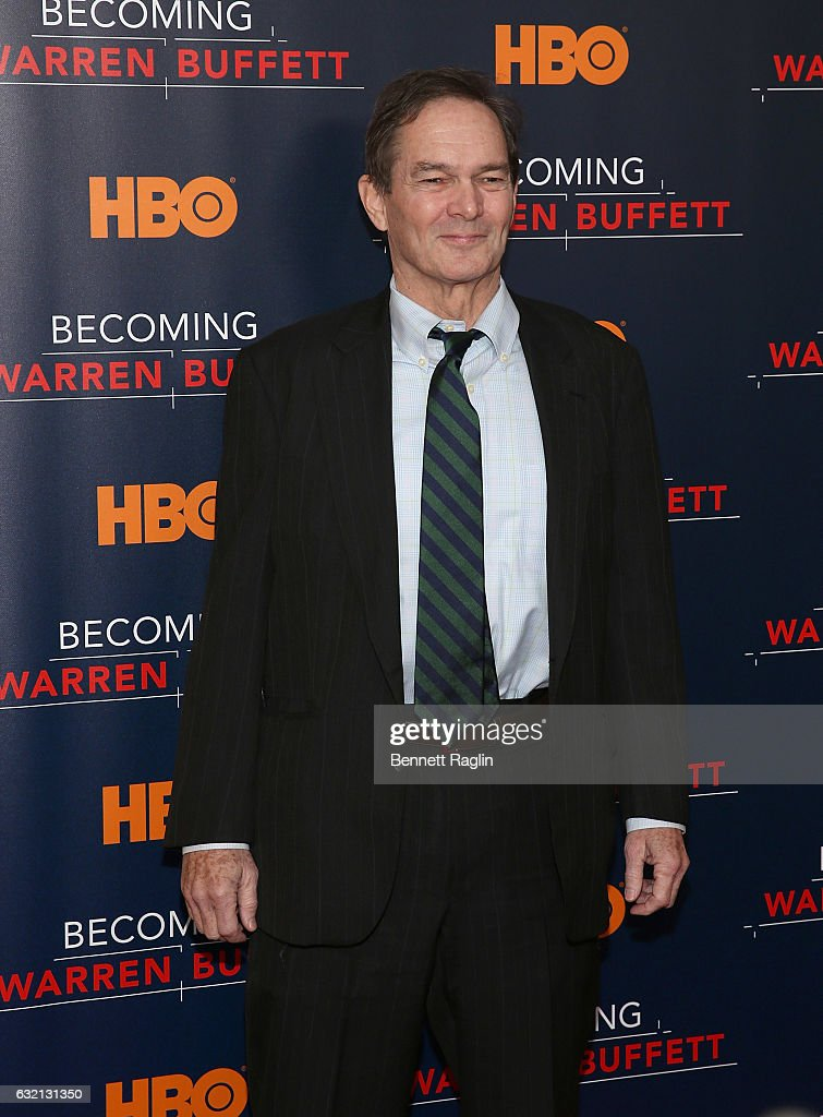 Director Peter Kunhardt attends 'Becoming Warren Buffett' World premiere at The Museum of Modern Art on January 19, 2017 in New York City.