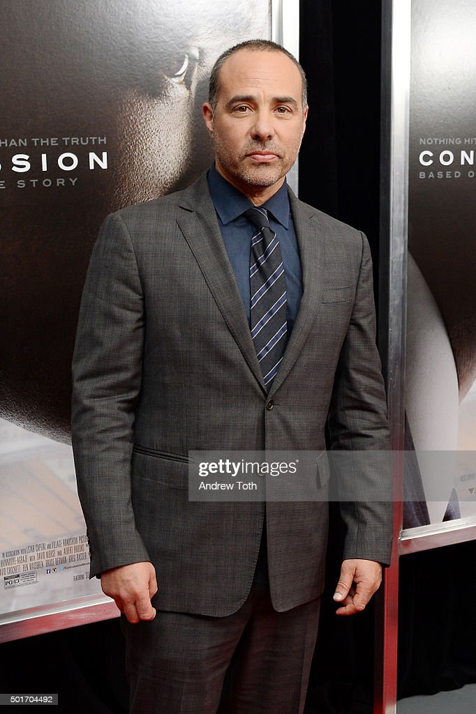Director Peter Landesman attends the 'Concussion' New York premiere at AMC Loews Lincoln Square on December 16, 2015 in New York City.