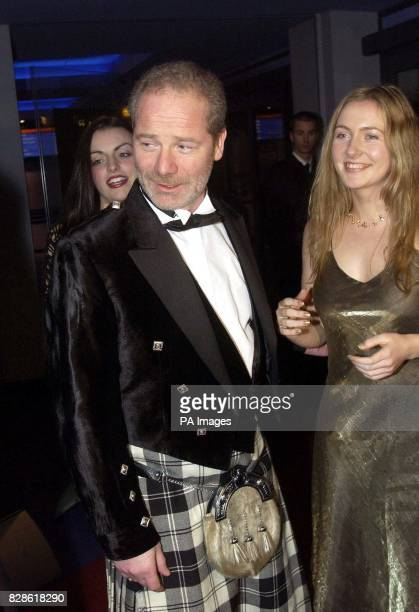Director Peter Mullan with actresses Anne Marie Duff and Dorothy Duffy arrives for the UK premiere of Mullan's The Magdalene Sisters at UGC Glasgow *...