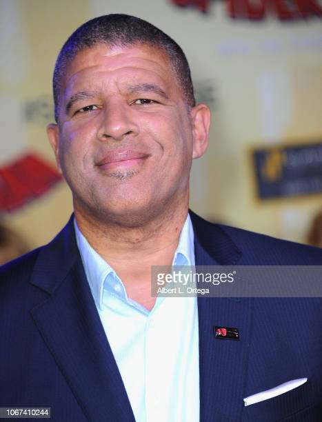 Director Peter Ramsey arrives for the World Premiere Of Sony Pictures Animation And Marvel's SpiderMan Into The SpiderVerse held at Regency Village...